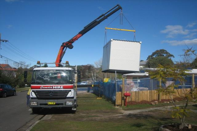 Where to find 3.6M X 2.4M ABLUTION BLOCK in Sydney