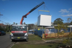 Rental store for 3.6M X 2.4M ABLUTION BLOCK in Sydney NSW