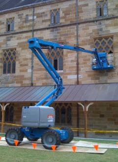 Rental store for 17M DIESEL KNUCKLE BOOMLIFT  51FT in Sydney NSW