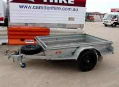 Rental store for 2.1M X 1.5M  7  X 5   BOX TRAILER in Sydney NSW