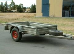Rental store for 2.4M X 1.5M  8  X 5   BOX TRAILER in Sydney NSW