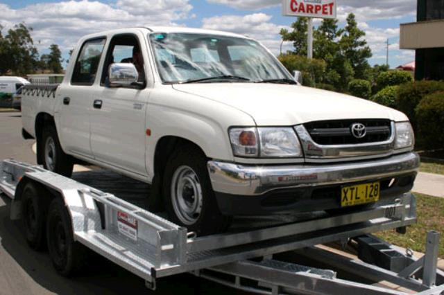 Where to find CAR TRAILER c w WINCH in Sydney