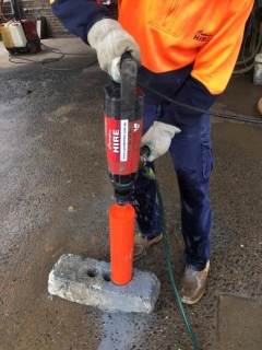 Rental store for ELECTRIC 3SPD CORE DRILL in Sydney NSW