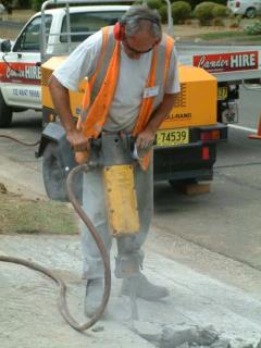 Rental store for 60LB JACKHAMMER  ATLAS in Sydney NSW