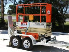 Rental store for SCISSOR TRAILER in Sydney NSW