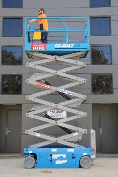 Rental store for 14M NARROW ELECTRIC SCISSOR LIFT  40FT in Sydney NSW