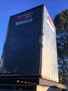 Rental store for 4 X 4  SHED in Sydney NSW