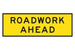 Rental store for ROADWORK AHEAD  SIGN in Sydney NSW