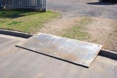 Rental store for STEEL PLATES 0.9M X 2.4M  3  x 8 in Sydney NSW