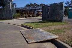 Rental store for STEEL PLATES 1.2M X 1.2M  4  x 4 in Sydney NSW