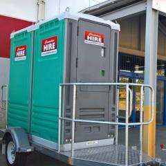 Rental store for DUAL TOILET TRAILER in Sydney NSW