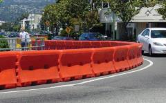 Rental store for WATER-WALL  WATER FILLED CRASH BARRIER in Sydney NSW