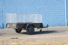 Rental store for 2.1M X 1.5M  7  X 5   TRAILER c w CAGE in Sydney NSW