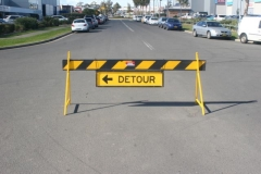 Rental store for DETOUR AHEAD SIGN in Sydney NSW
