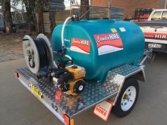 Rental store for 1000L WATER TANK C W PUMP   HOSE in Sydney NSW